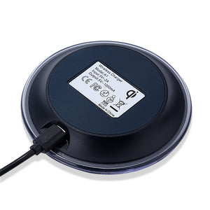 Wireless Phone Charger - No wires - truly Mobile - Charges on contact - Just place the phone on the cradle - Samsung Galaxy S6 / S6 edge / S7 edge plus / Note 5 / Note 7 -   - Magneta Brand