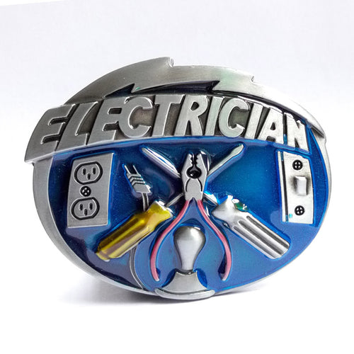 Cool Electrician Craft Belt Buckle - For those who are proud of their skill -   - Magneta Brand