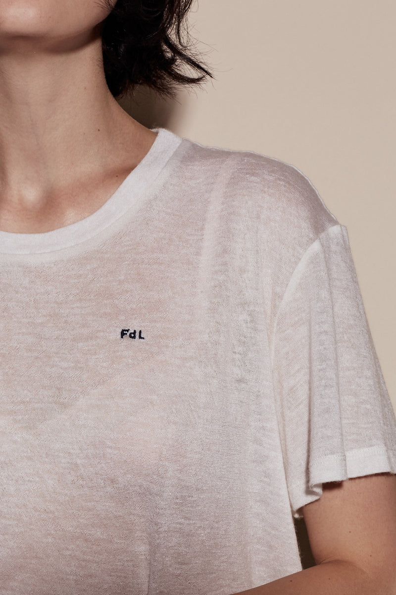 FdL JOHNNY TEE / CREME