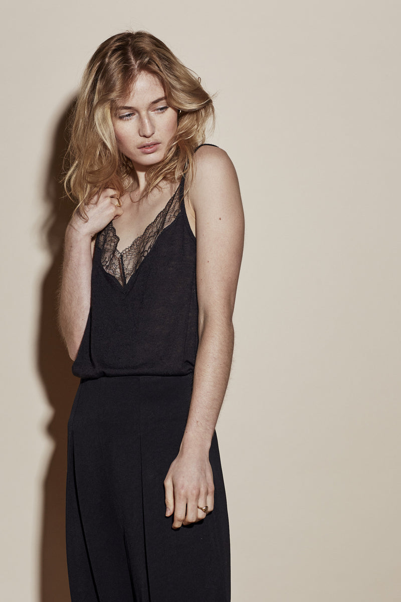 DARLING CAMI / BLACK