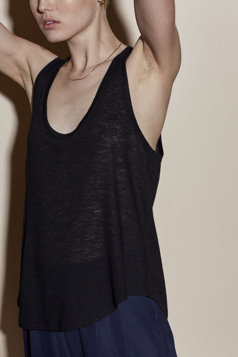 PATTI TANK / BLACK