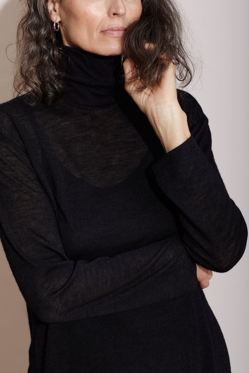 SIMONE TURTLENECK / BLACK