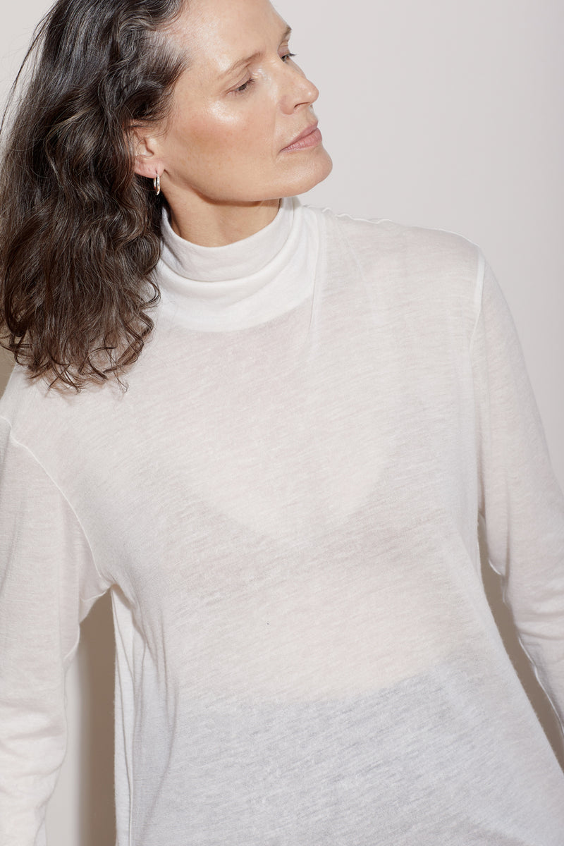 SIMONE TURTLENECK / CRÉME