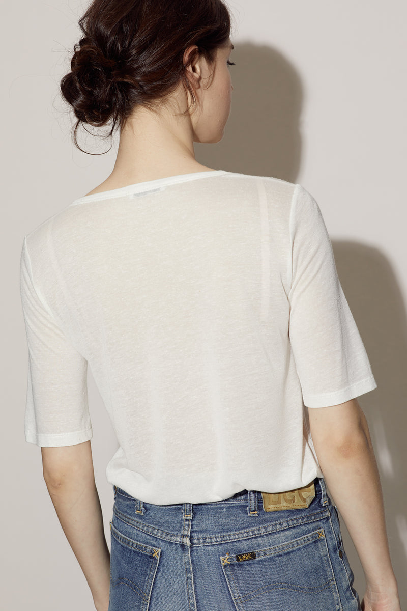 SOPHIE TEE / WHITE