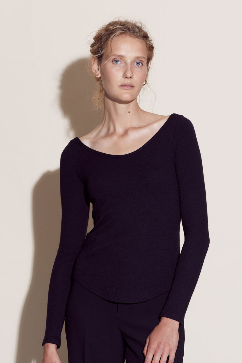 AURELIA TOP / BLACK
