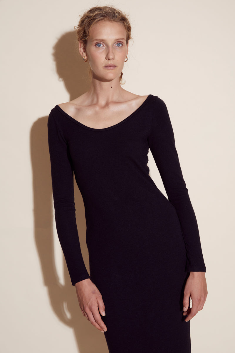 BEATRICE DRESS / BLACK