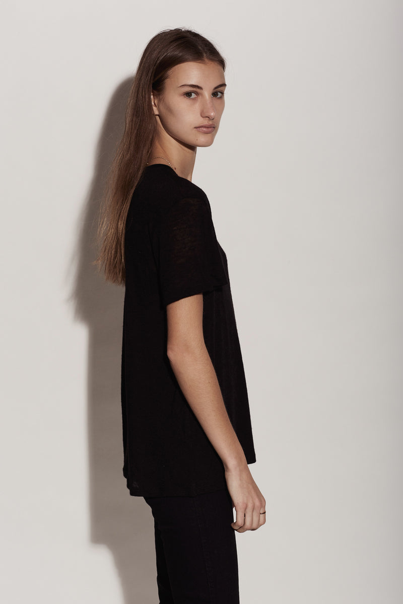 FdL JOHNNY TEE / BLACK