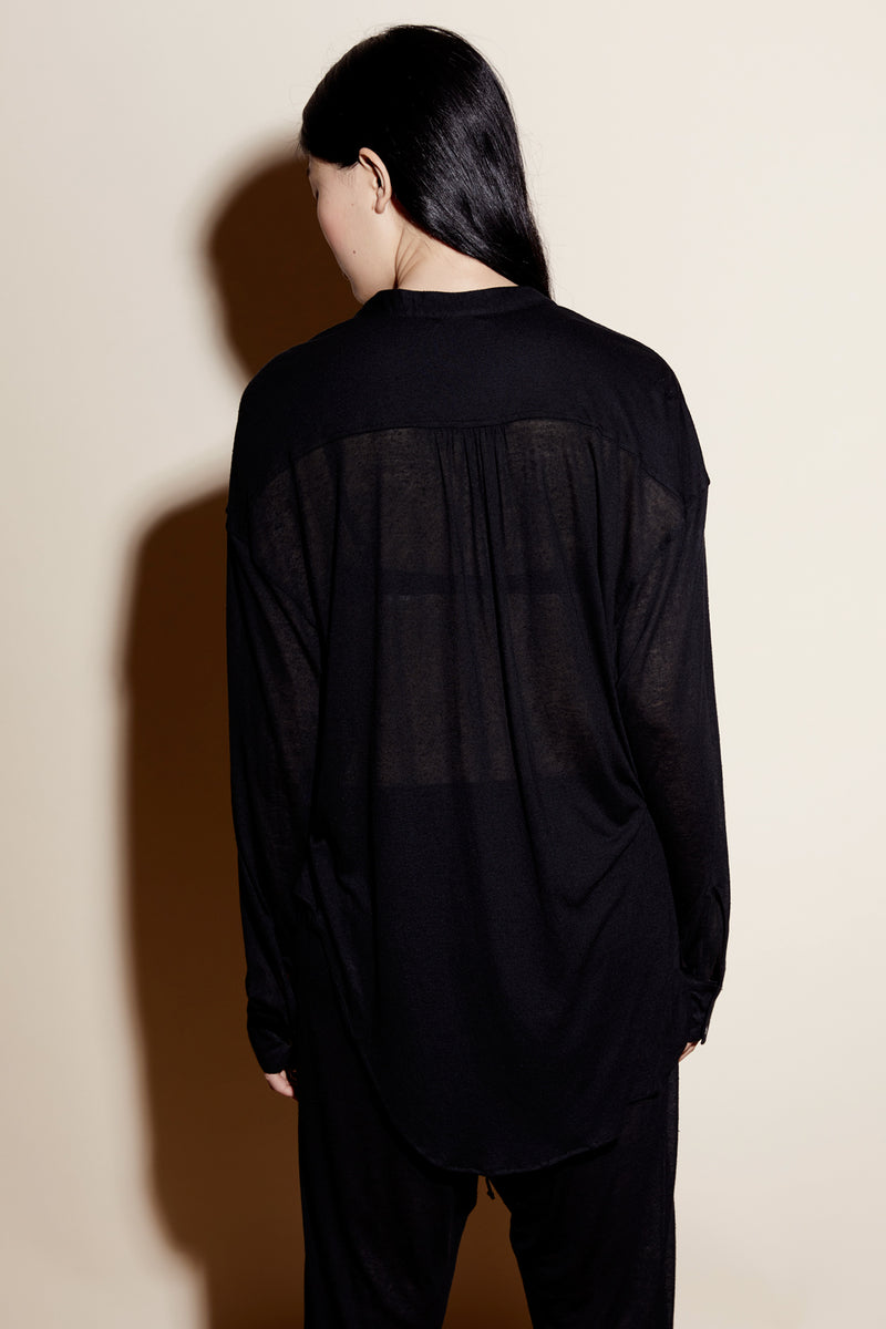 WESLEY TUNIC / BLACK