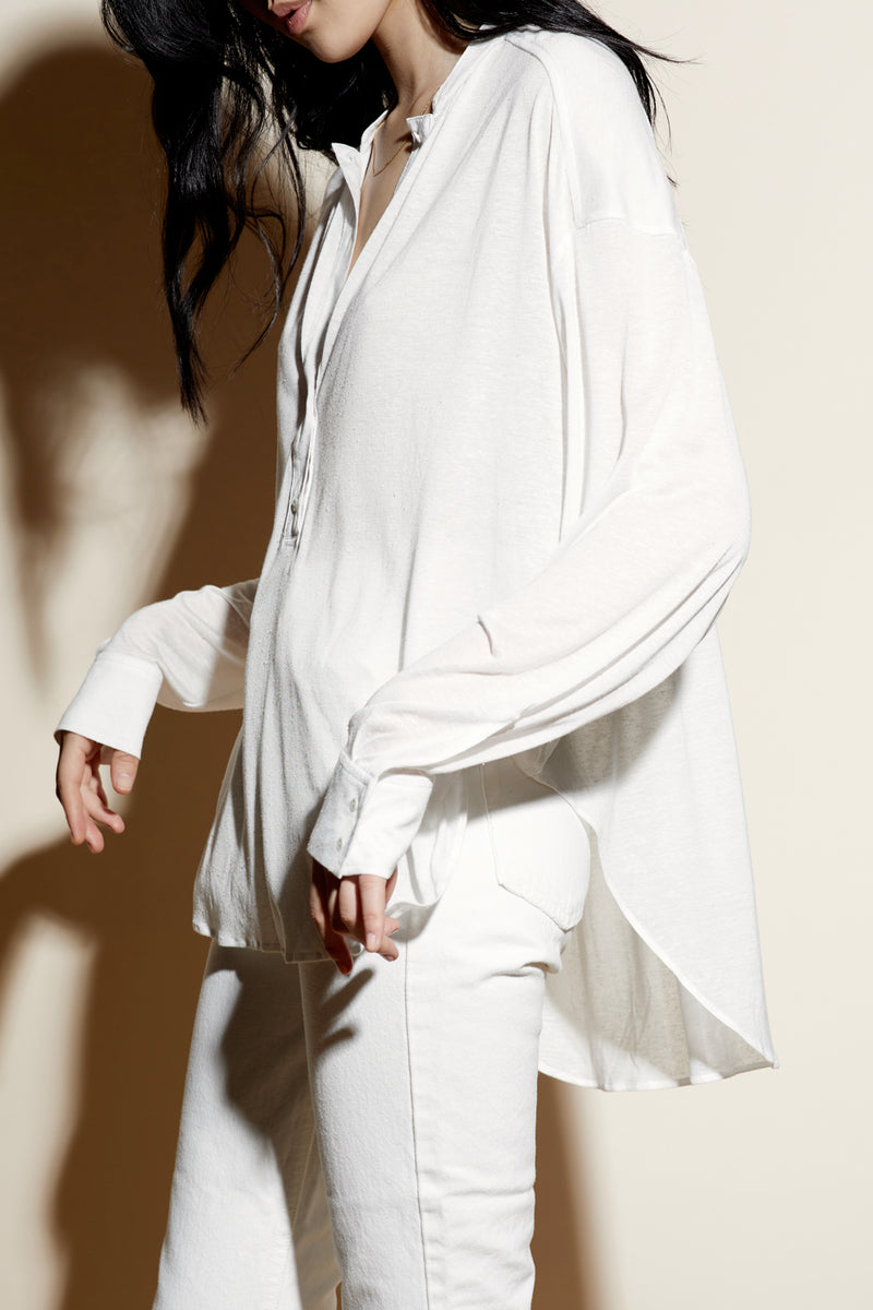 WESLEY TUNIC / WHITE