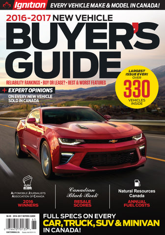 Ignition 2016-2017 New Vehicle Buyer's Guide