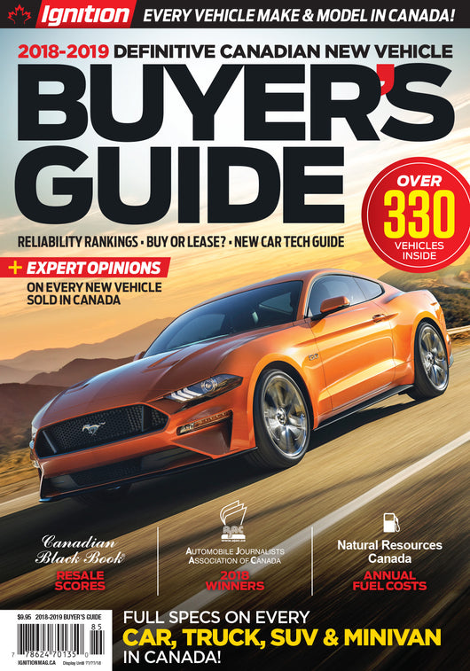 Ignition 2018-2019 New Vehicle Buyer's Guide