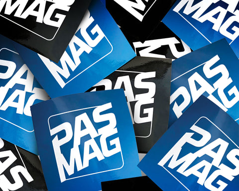 PASMAG Sticker Pack   (2 PER PACK)