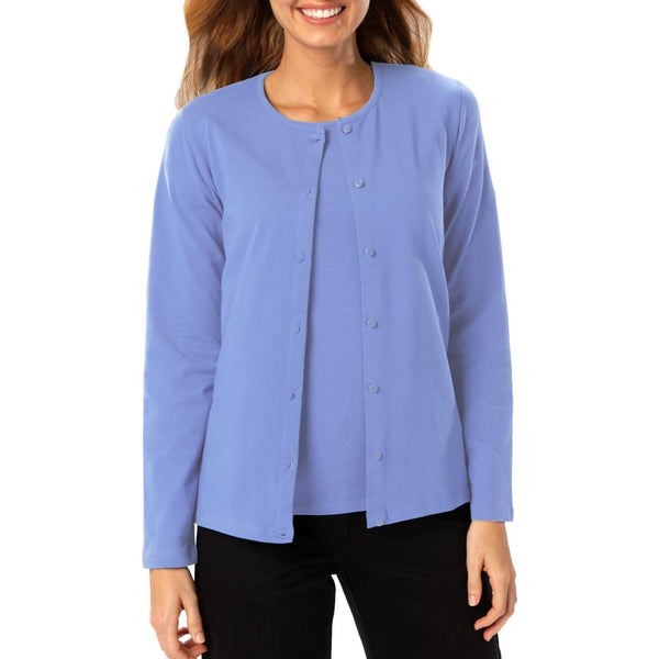 Blue Generation Ladies Cardigan