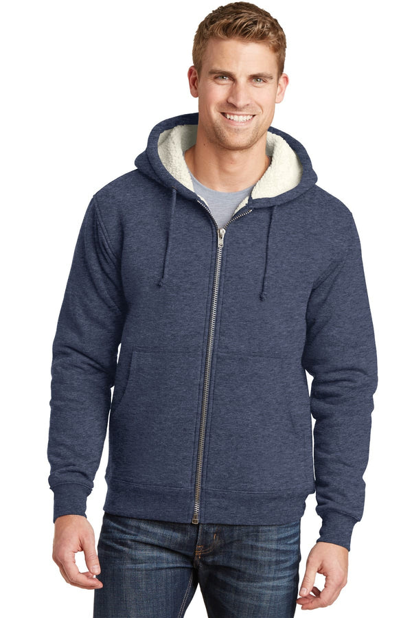 Cornerstone Heavyweight Sherpa-Lined Hooded Fleece Jacket