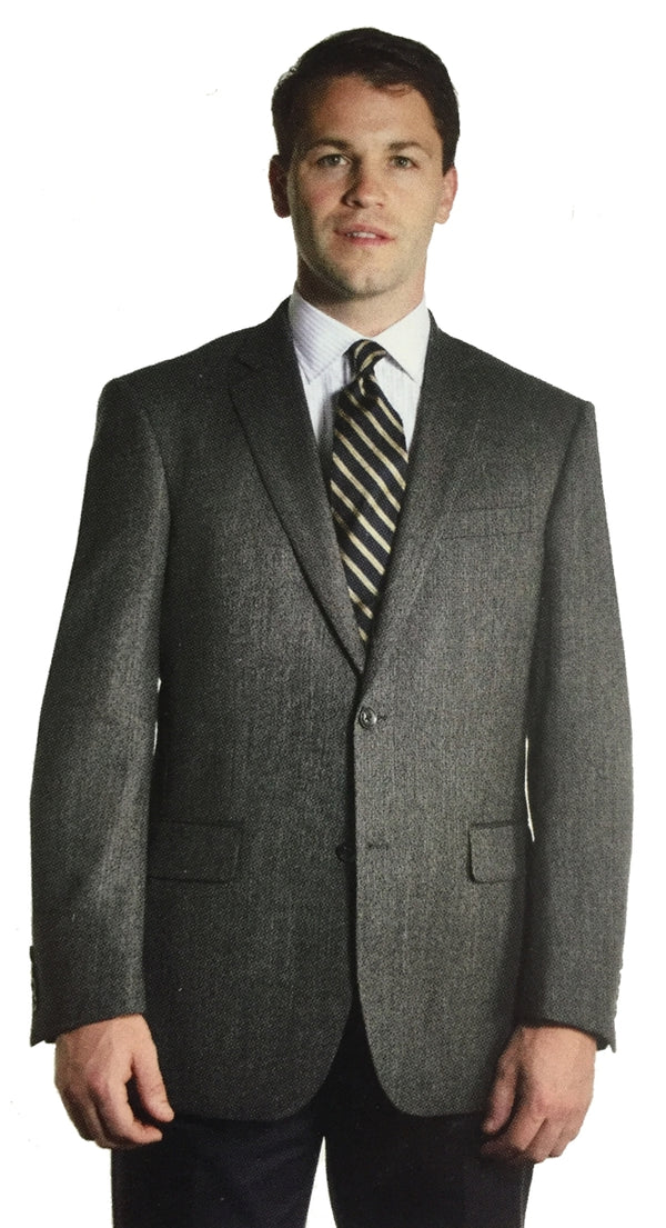 Men's Year Round Wool Plaid Sport Coat