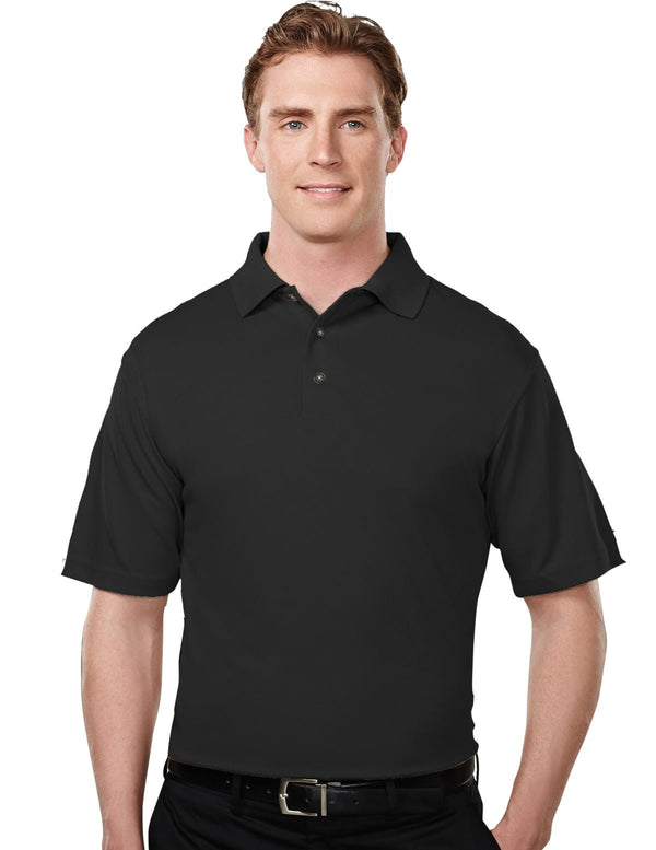 Tri-Mountain Men's 100% Poly Micro Mesh Polo Shirt