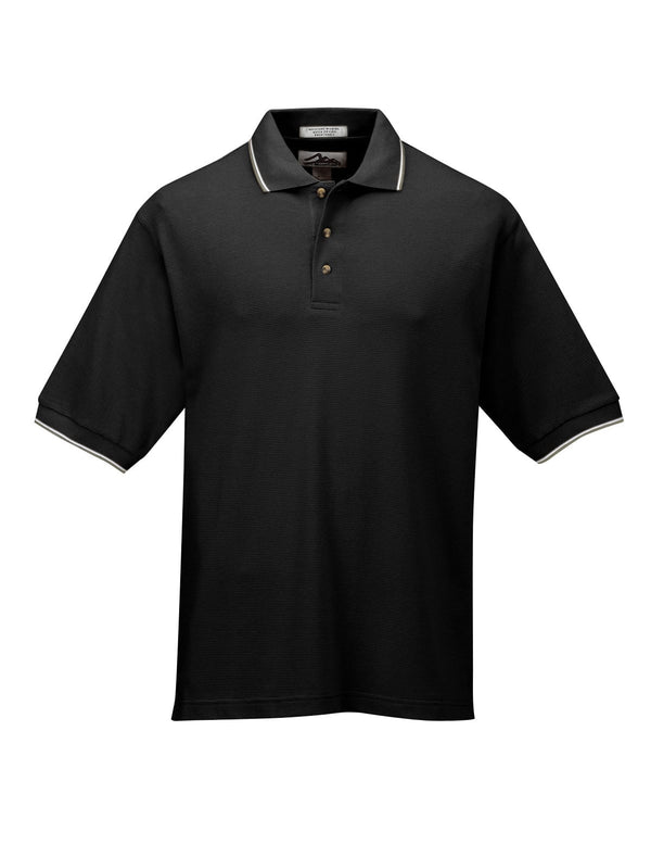 "Tri-Mountain Men's 7.8Oz 60/40 ""Ultracool"" Polo Shirt With Tipping"