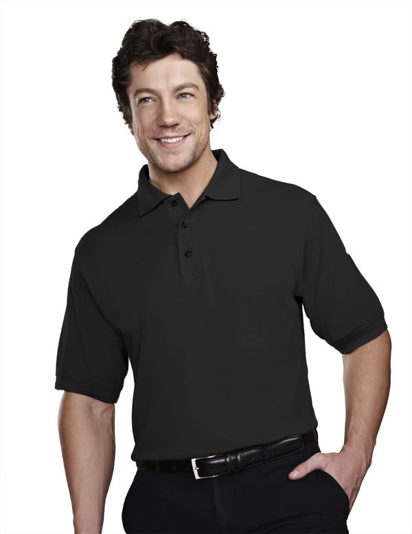 Tri-Mountain Men's 7oz 60/40 Stain Resistant Pique Polo Shirt
