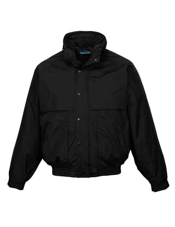 Tri-Mountain Men's Colorblock Nylon/Fleece 3-in-1 System Jacket