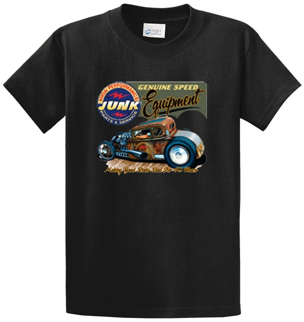 Hot Rod High Performance Junk Printed Tee Shirt