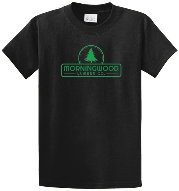 Morningwood Printed Tee Shirt