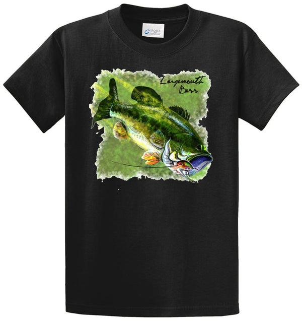 Largemouth Bass 4 Printed Tee Shirt