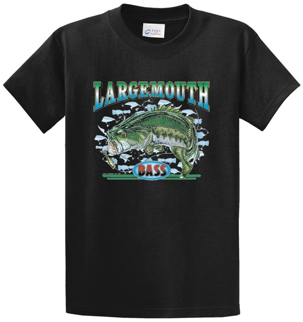 Largemouth Bass 3 Printed Tee Shirt