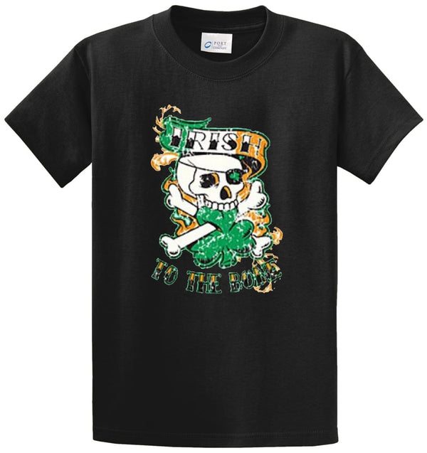 Irish To The Bone Printed Tee Shirt