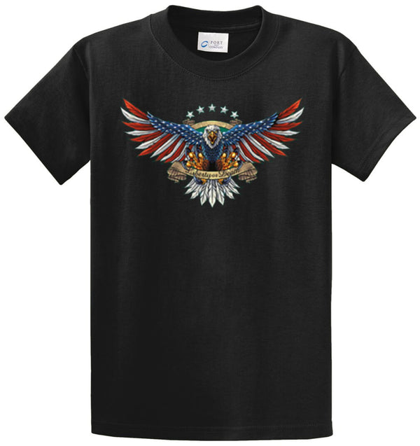 Liberty Or Death Printed Tee Shirt