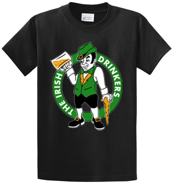 Irish Drinkers Printed Tee Shirt