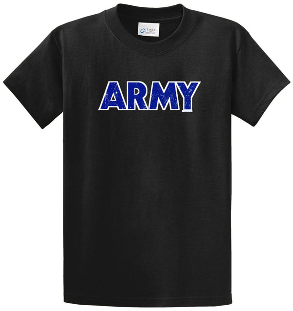 Army Printed Tee Shirt