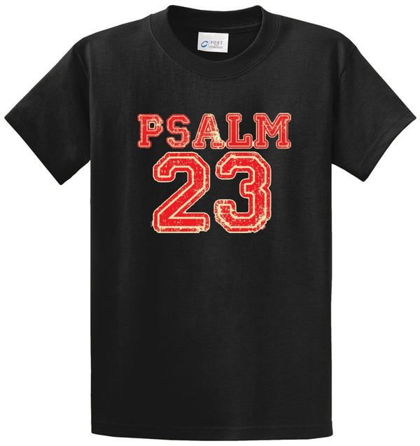 Psalm 23 Printed Tee Shirt