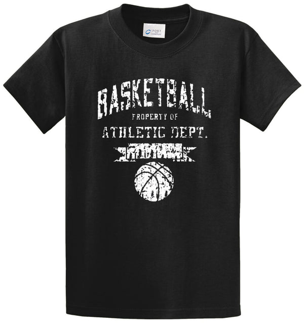 Basketball Athletic Printed Tee Shirt