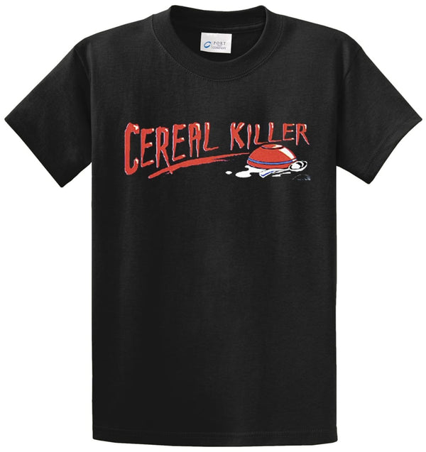 Cereal Killer Printed Tee Shirt