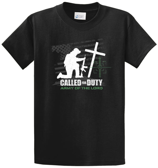 Called For Duty Printed Tee Shirt