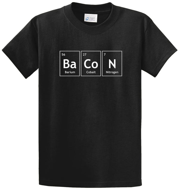 Elements Of Bacon Printed Tee Shirt