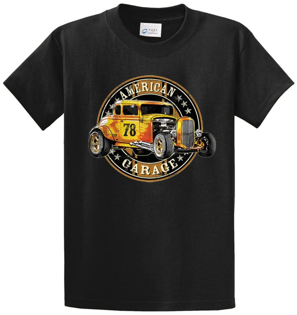 American Garage Hot Rod Printed Tee Shirt