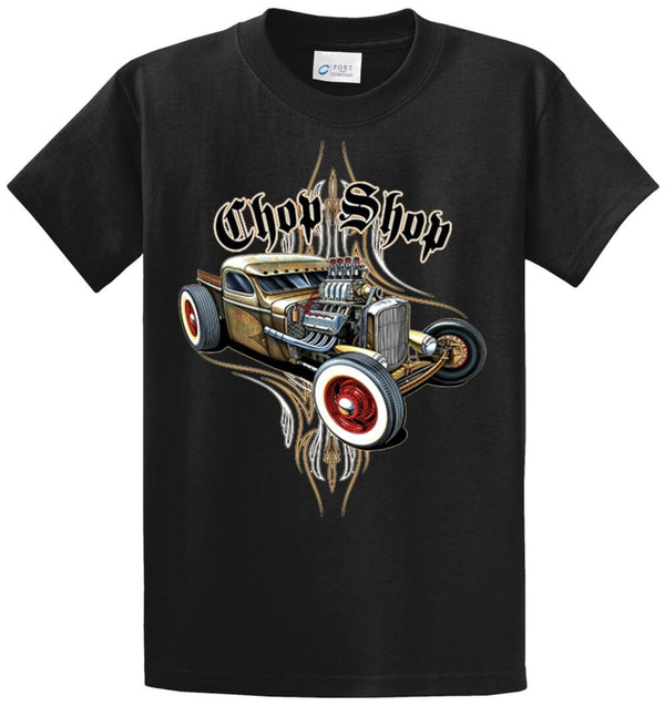 Rat Rod Chop Shop Printed Tee Shirt