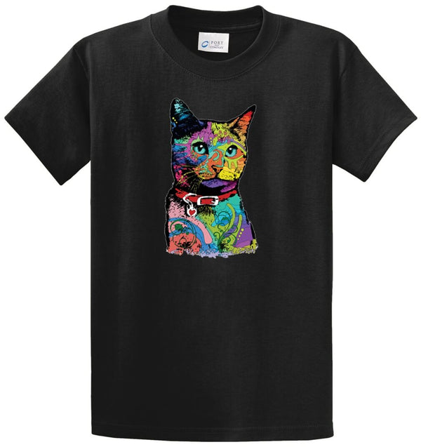 Queen Cat Printed Tee Shirt