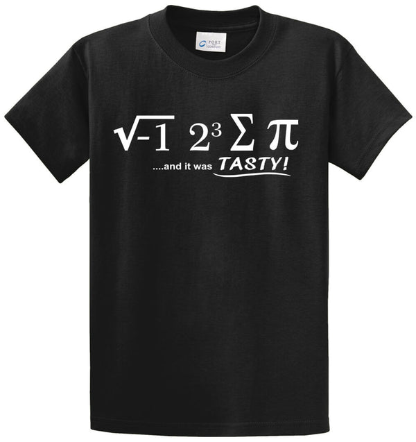 Ate Some Pi Printed Tee Shirt