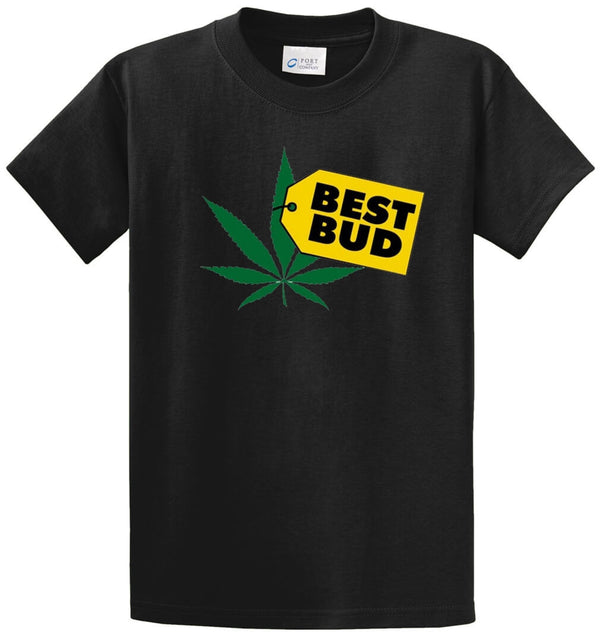 Best Bud Printed Tee Shirt