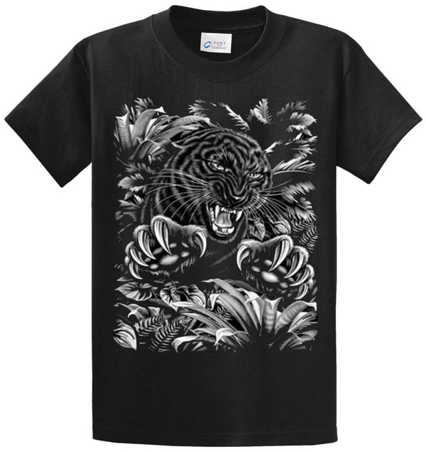 Panther (Oversized) Printed Tee Shirt