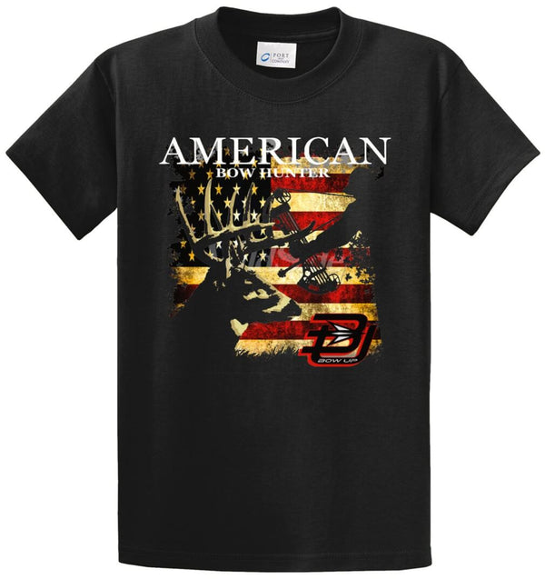American Bow Hunter Printed Tee Shirt
