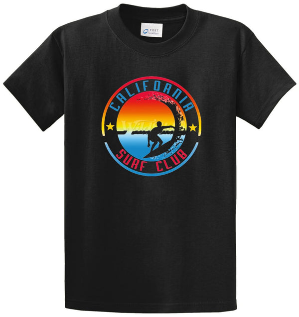 California Surf Club Printed Tee Shirt