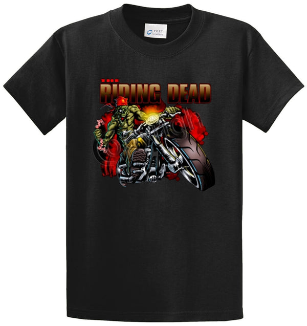 Riding Dead Printed Tee Shirt