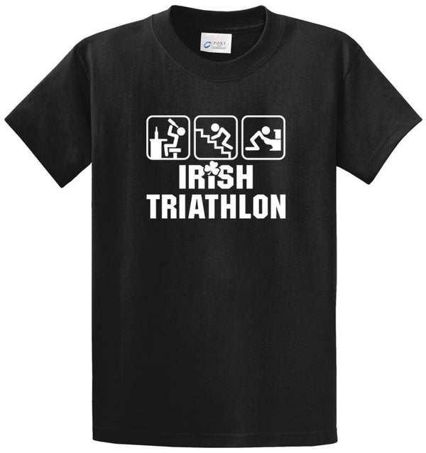Irish Triathlon Printed Tee Shirt