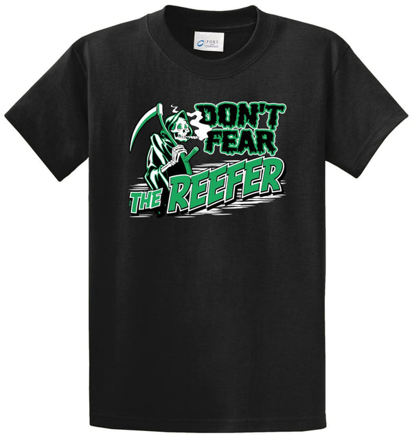 Don't Fear The Reefer Printed Tee Shirt
