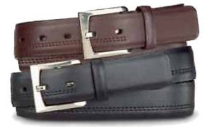 "Beverly Hills Polo Club 1 1/4"" Leather 2 For 1 Dress Belt"