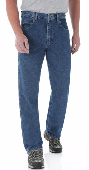 Wrangler Men's Relaxed Fit Denim Jeans