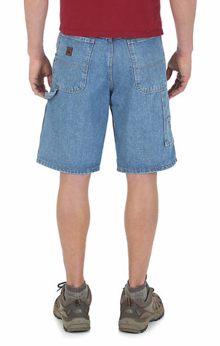 Wrangler Men's Denim Carpenter Short-2